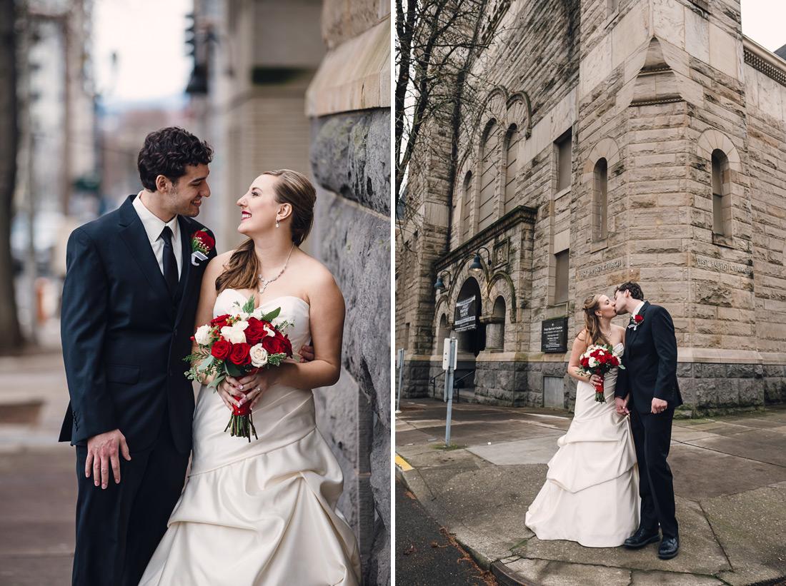 portland-wedding-025 First Baptist Church of Portland | Oregon Wedding Photographer | Sarah & Josh