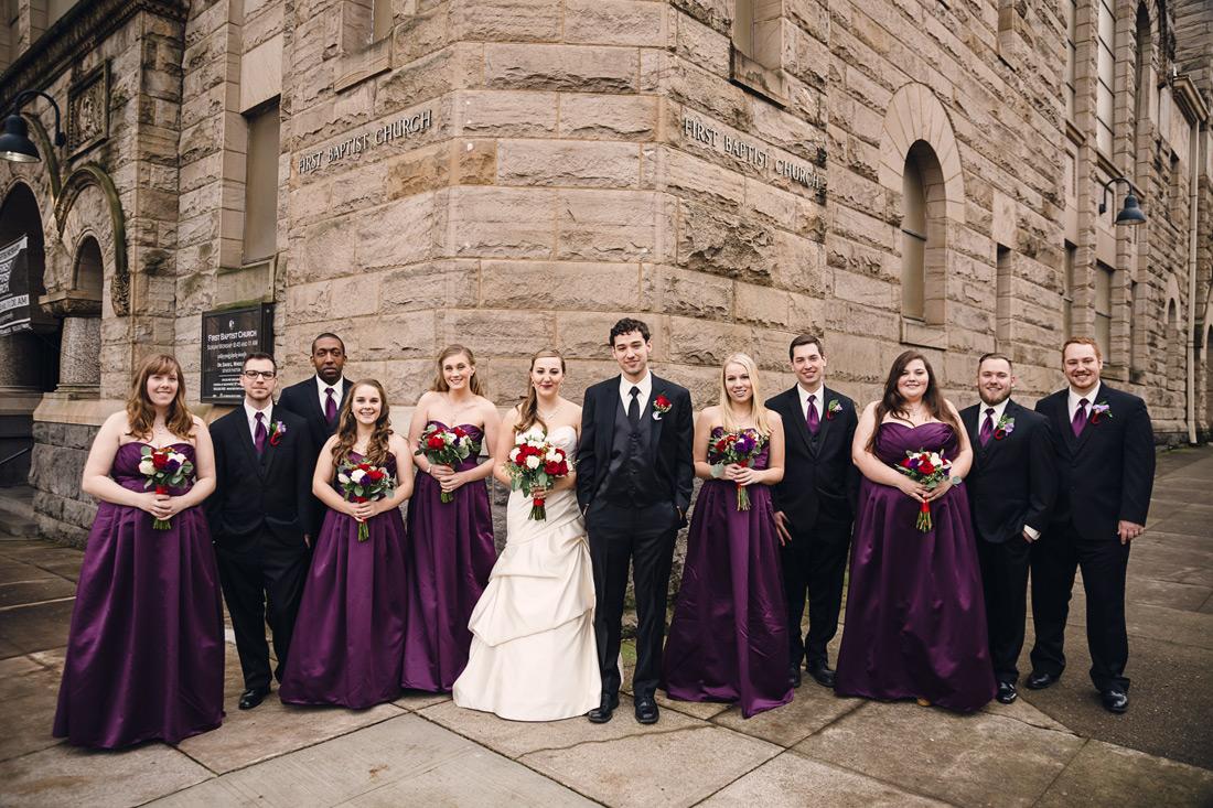 portland-wedding-037 First Baptist Church of Portland | Oregon Wedding Photographer | Sarah & Josh