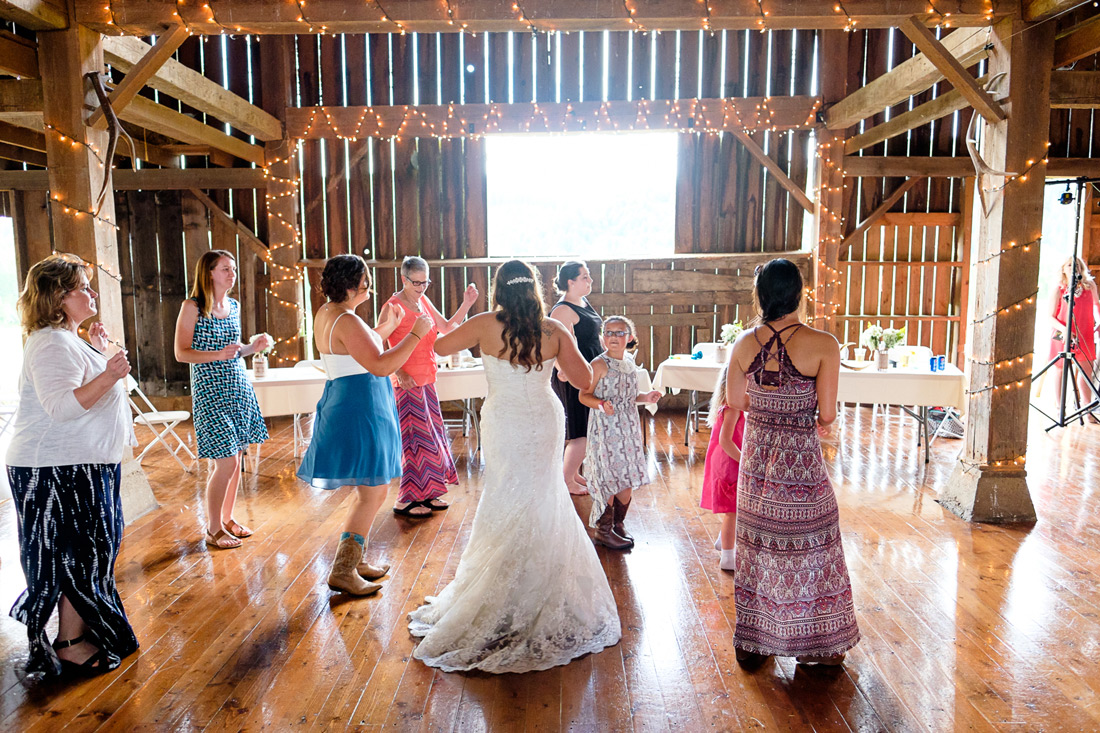 Blue rooster inn wedding