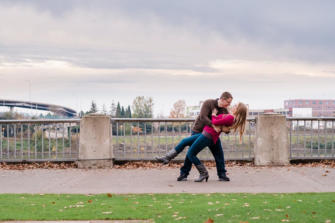 Portland Oregon Engagement Session | Tiffany & Kel