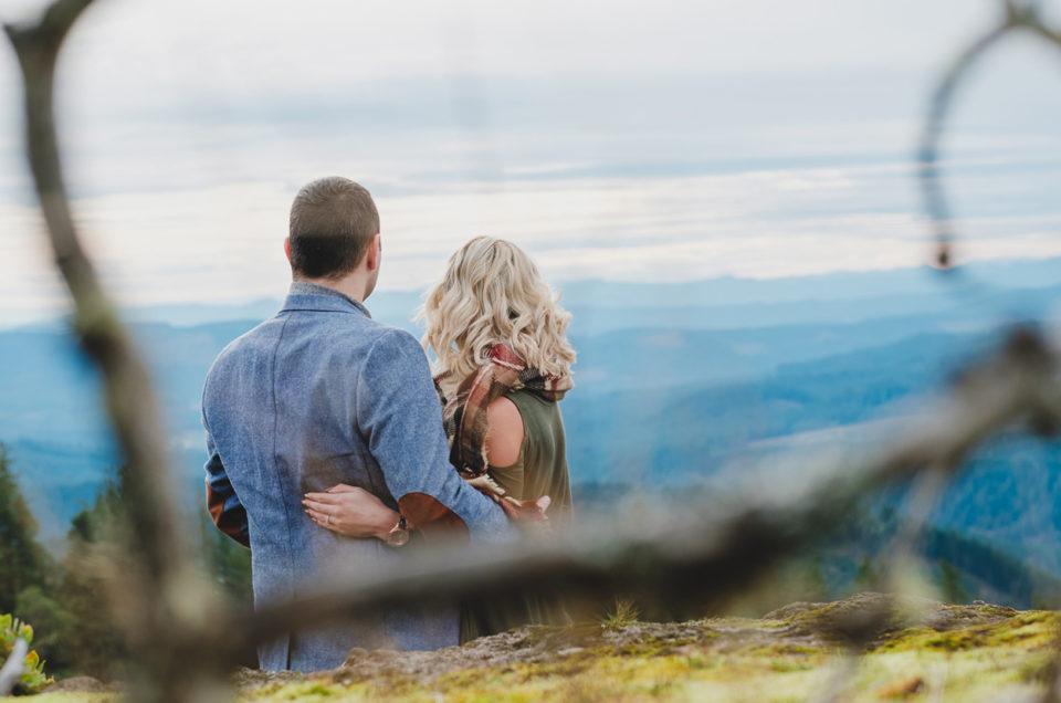 Adventure Engagement Session | Ashley & Forrest | Horse Rock Ridge