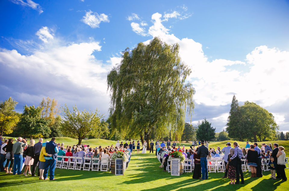 Shadow Hills Wedding | Eugene Oregon Wedding Photographer | Jessica & Jake