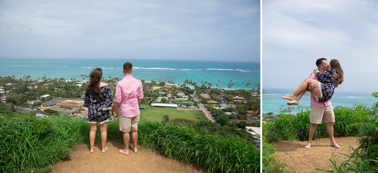lanakai-beach-engagement-photos-007 Lanakai Beach Engagement Photos   Oahu Hawaii Wedding Photographer   Savannah & Anthony