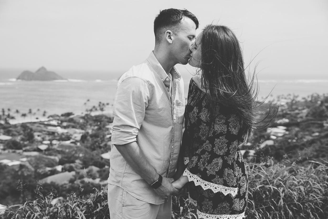 lanakai-beach-engagement-photos-008 Lanakai Beach Engagement Photos   Oahu Hawaii Wedding Photographer   Savannah & Anthony