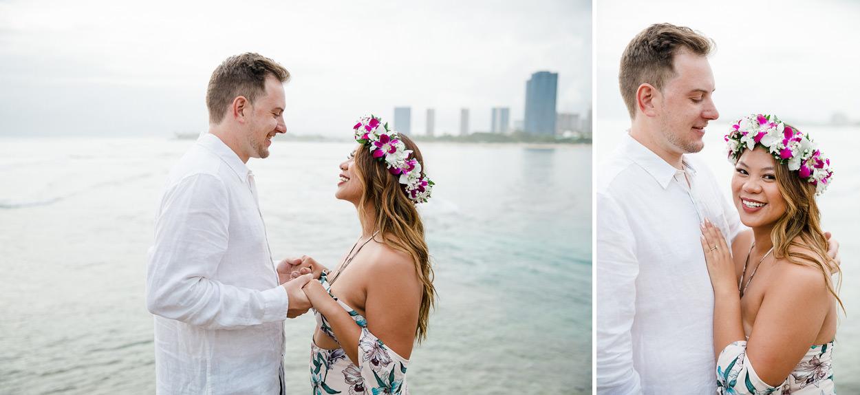magic-island-engagement-photos-002 Magic Island Engagement Photos   Waikiki Hawaii Wedding   Jennifer & Morgan