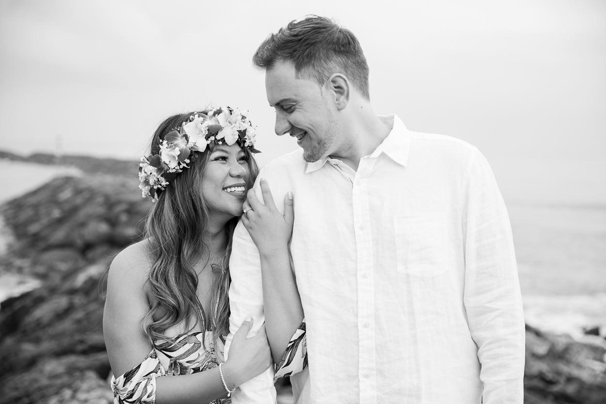 magic-island-engagement-photos-004 Magic Island Engagement Photos   Waikiki Hawaii Wedding   Jennifer & Morgan