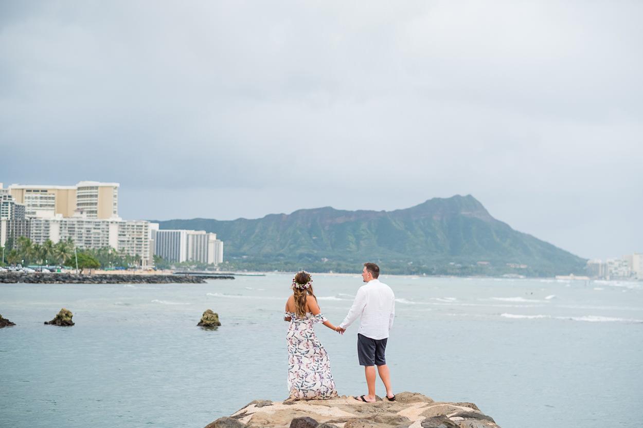 magic-island-engagement-photos-008 Magic Island Engagement Photos   Waikiki Hawaii Wedding   Jennifer & Morgan