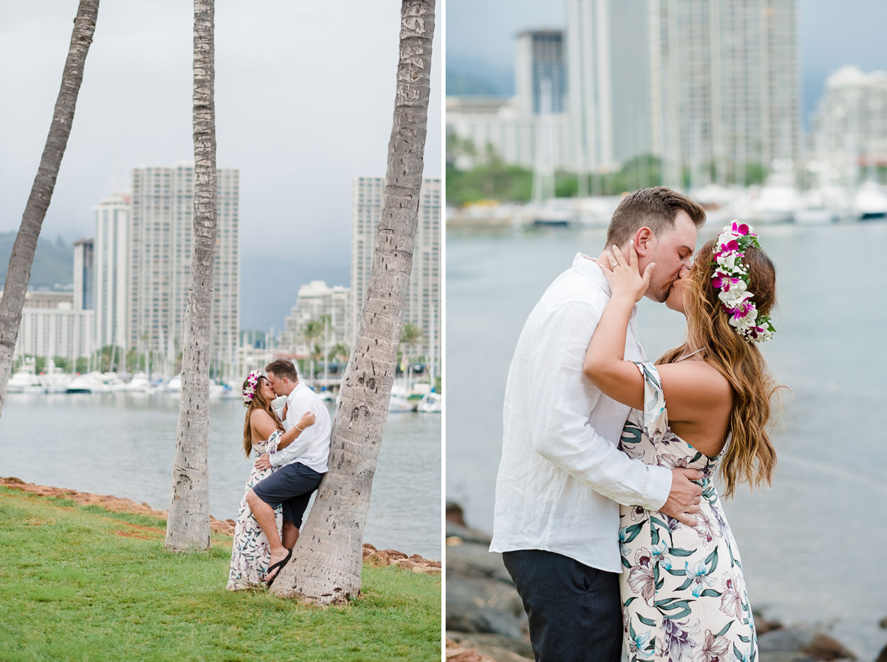 magic-island-engagement-photos-012 Magic Island Engagement Photos   Waikiki Hawaii Wedding   Jennifer & Morgan