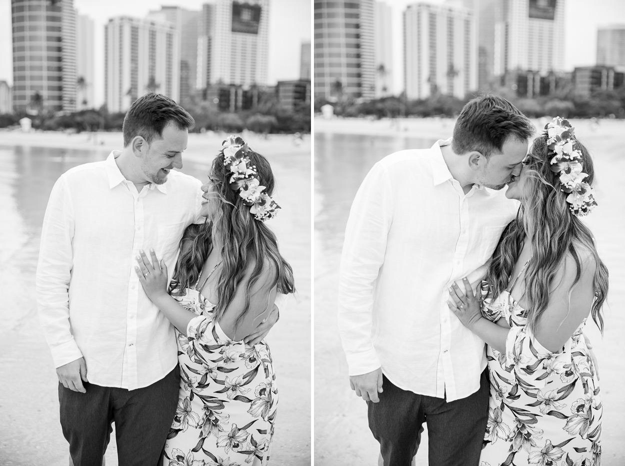 magic-island-engagement-photos-015 Magic Island Engagement Photos   Waikiki Hawaii Wedding   Jennifer & Morgan