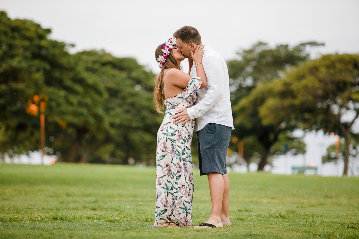 magic-island-engagement-photos-016 Magic Island Engagement Photos   Waikiki Hawaii Wedding   Jennifer & Morgan