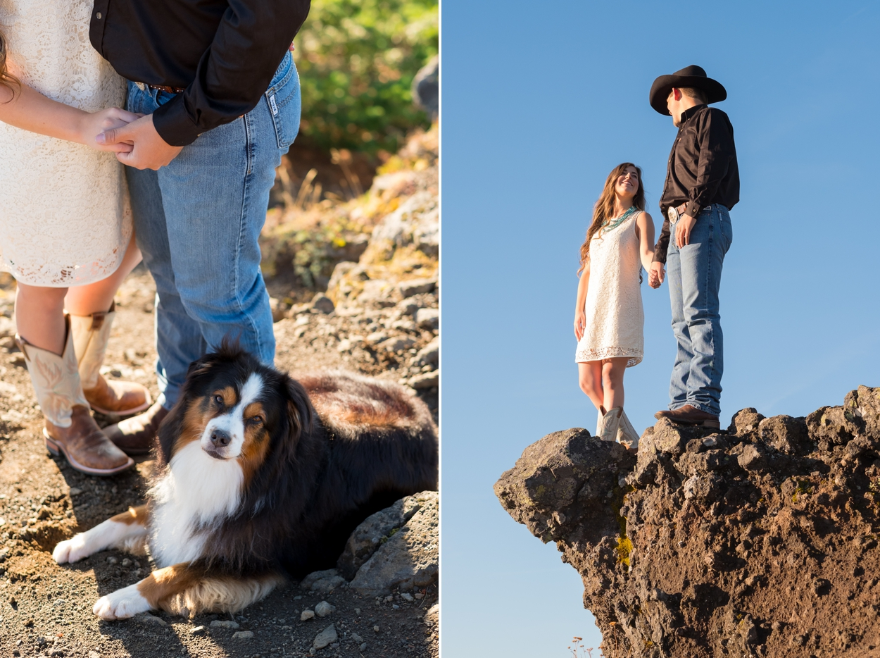 engagement-pictures-pacific-northwest-photographer-007 Lyndee & Max | Adventure Engagement Session | Iron Mountain Oregon